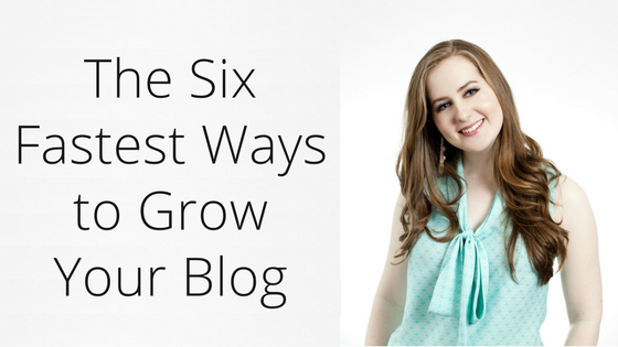 Six fastest ways to grow your blog | Gillian Perkins | Online Business Strategy