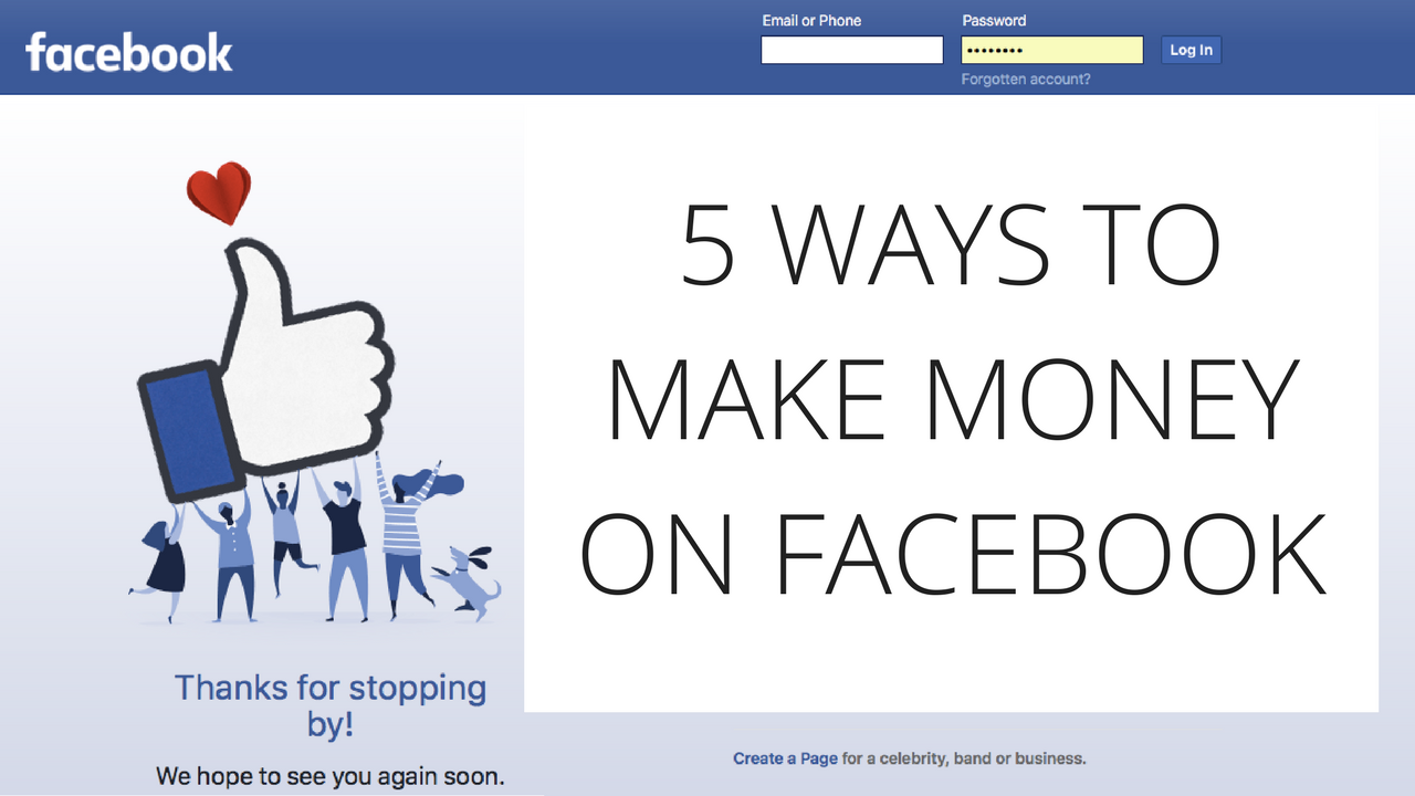 4 Ways to Make Money Using Facebook - wikiHow