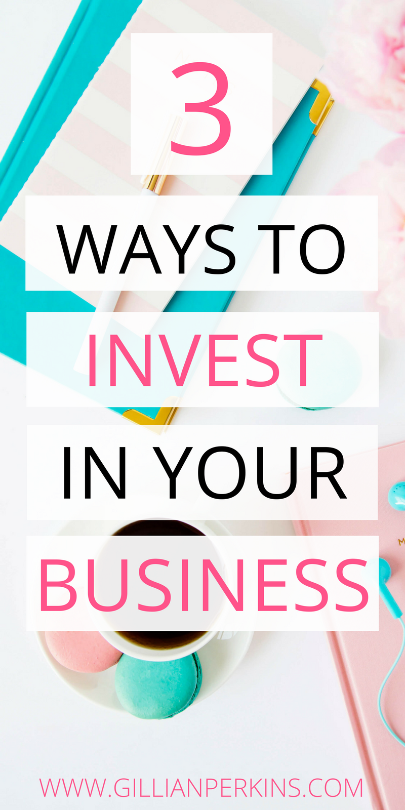 """What does it really mean to """"invest"""" in your business? For so long I wondered... I wanted my business to grow and thrive, but I just didn't even know what I should be doing. Well, after ten years of working for myself, I finally figured it out. :P"""